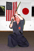 Iai Jutsu - Hanshi Roztocil working with live Katana